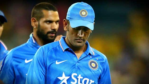 India vs Australia: MS Dhoni performing gives confidence to other batsmen – Shikhar Dhawan