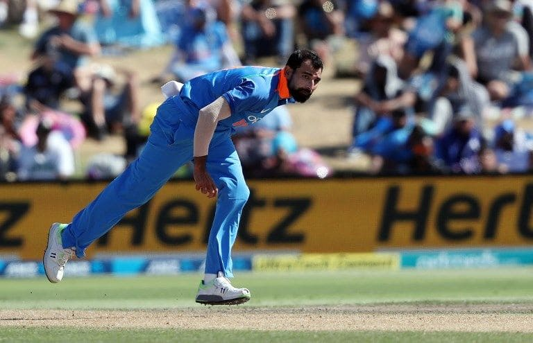 Mohammed Shami India World Cup squad 2019