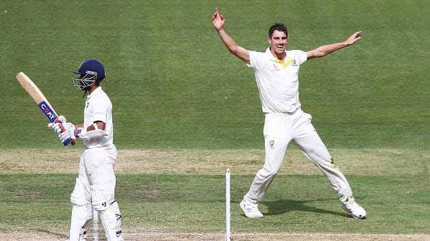 Pat Cummins claimed a terrific six-wicket haul in India's second innings and added 63 off 114 balls in Australia's second innings at the Melbourne Cricket Ground (MCG). @ Getty Images