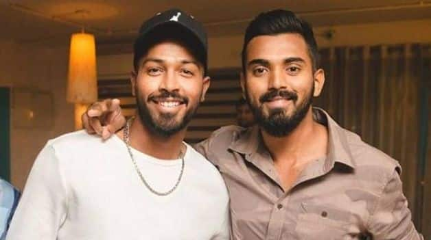 Hardik Pandya and KL Rahul. @ Instagram