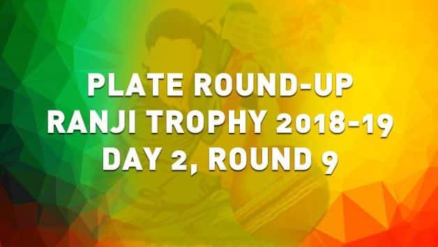 Ranji Plate Round 9 Day 2