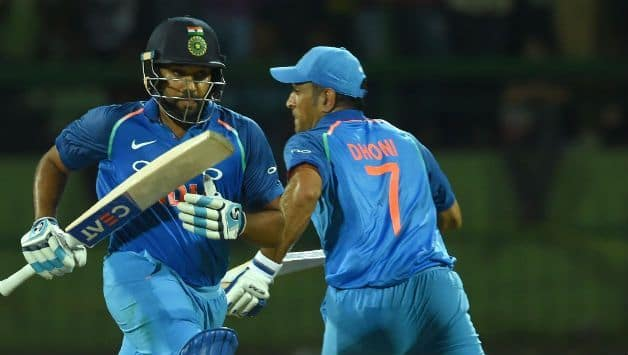 India vs Australia, 1st ODI: MS Dhoni is the 'ideal' number four; says Rohit Sharma