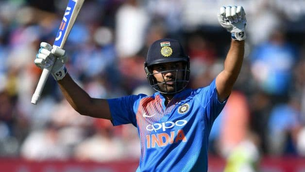 India vs Australia: Rohit Sharma equals Sourav Ganguly with 22nd ODI century
