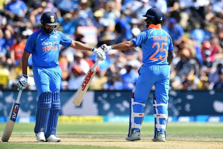 Rohit Sharma and Shikhar Dhawan are a formidable opening pair