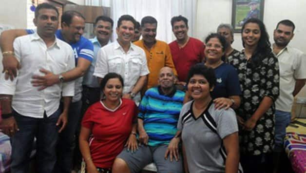 Sachin Tendulkar's coach Ramakant Achrekar dies aged 87 in mumbai