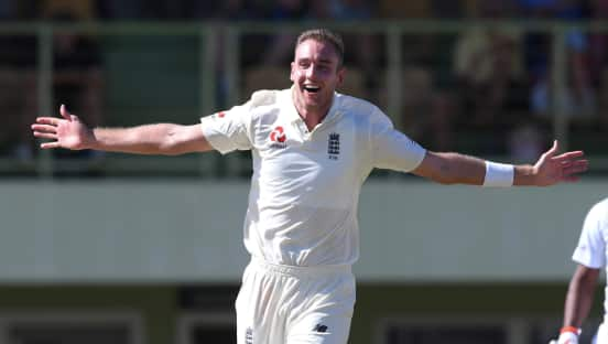 Hat-trick for Stuart Broad on 19-wicket day against CWI President's XI