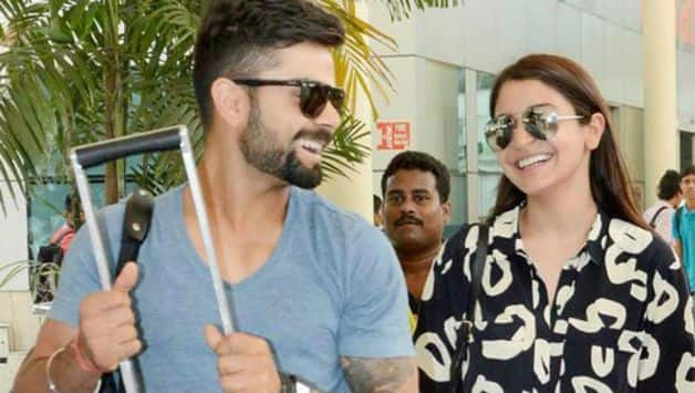 Virat Kohli likes to sitting on a bench with Anushka Sharma