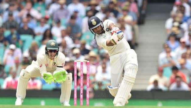 Mayank Agarwal continued to enjoy a strong start to his Test career. (AFP Image)