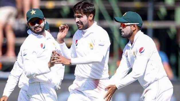 From being in control on 226 for three at tea, South Africa were bowled out for 262.