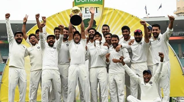 The BCCI today announced cash awards for Team India players after the historic Test series win against Australia including bonuses equivalent to the actual match-fee payable: which is INR 15 Lakhs per match for Playing XI and INR 7.5 Lakhs per match for the reserve players.