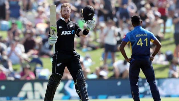 Comeback men Guptill, Neesham power New Zealand to 371/7 against Sri Lanka