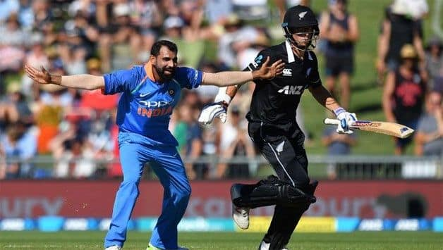 Shami quickest Indian to 100 ODI wickets