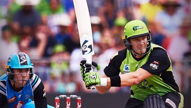 Watson made a 40-ball 68 helping Sydney Thunder to 168/6