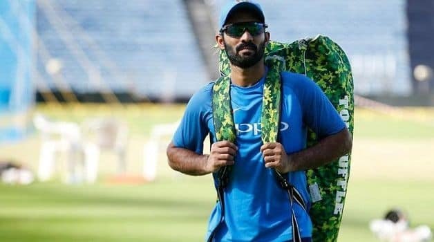I'm not somebody who sets goals: Dinesh Karthik