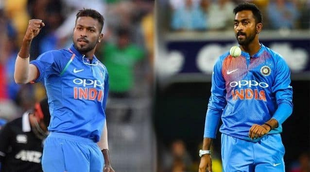 IND vs NZ, 1st T20I: Hardik Pandya, Krunal Pandya become third brothers pair to play in the same match for India