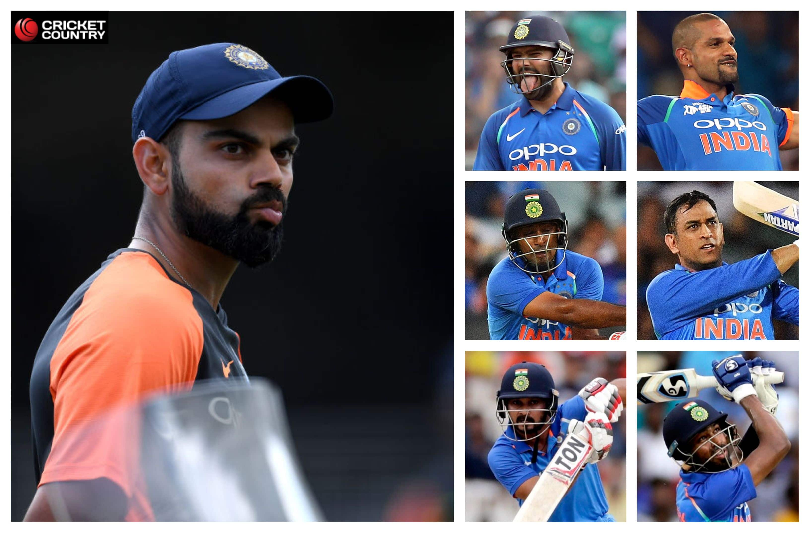 903776296de Is this the best Indian batting order for the World Cup  - Cricket ...
