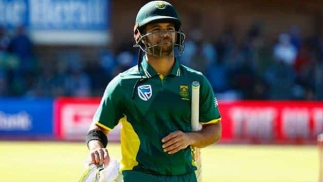 Clouds over JP Duminy playing in ODI series against Sri Lanka due to shoulder injury