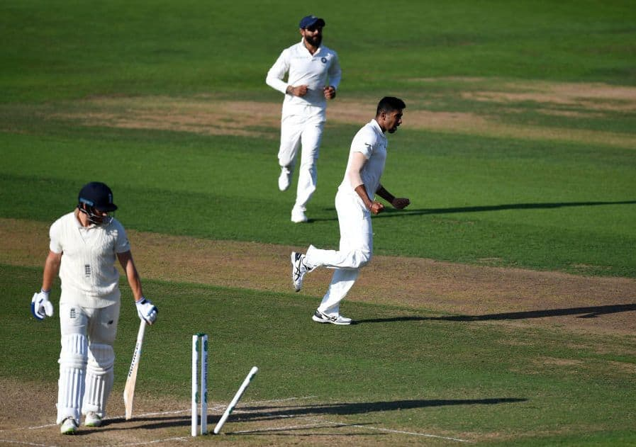 Jasprit Bumrah bowled India to victory at Trent Bridge.