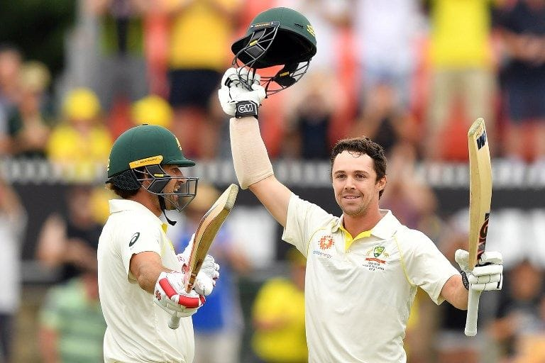 2nd Test: Joe Burns and Travis Head in record stand for Australia