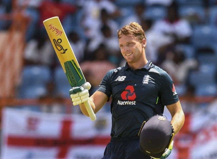 Jos Buttler hit his highest ODI score with 12 sixes and 13 fours.