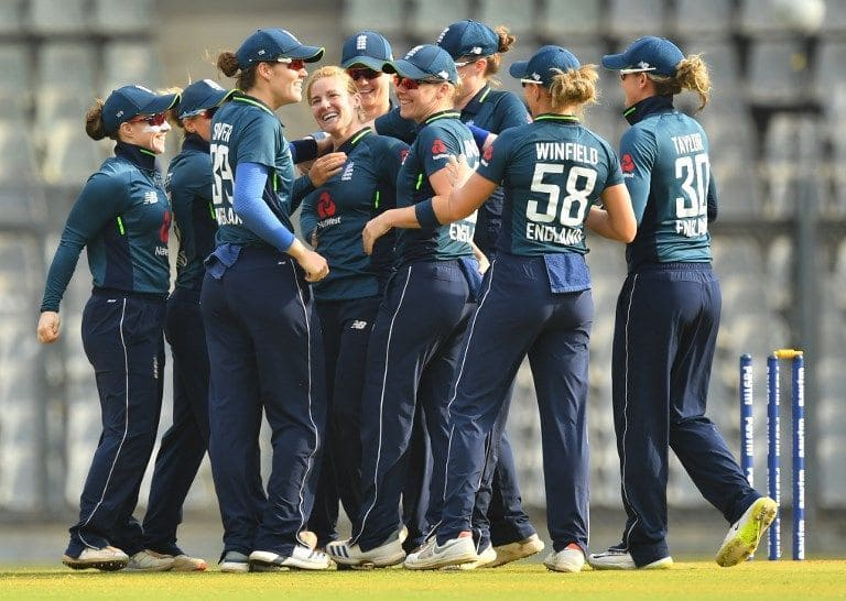 India vs England 3rd ODI: Katherine Brunt's five restricts India Women to 205