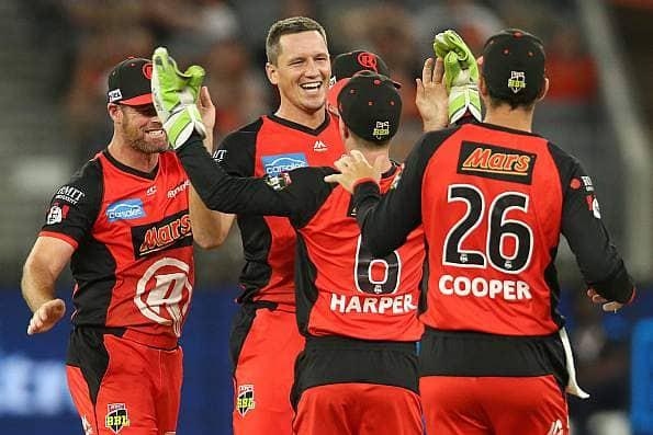 Big Bash League 2018-19: Melbourne Renegades beat Melbourne Stars by 13 runs to lift maiden title