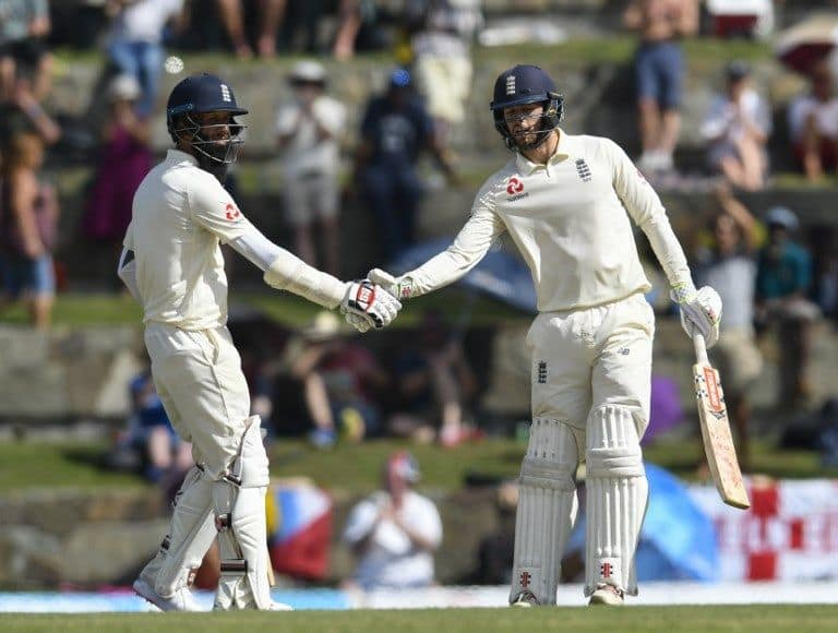 Moeen Ali and Ben Foakes put on 85 to revive England.