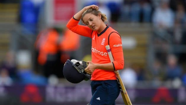 Sarah Taylor: When I'm in a good place mentally you will see it on the field