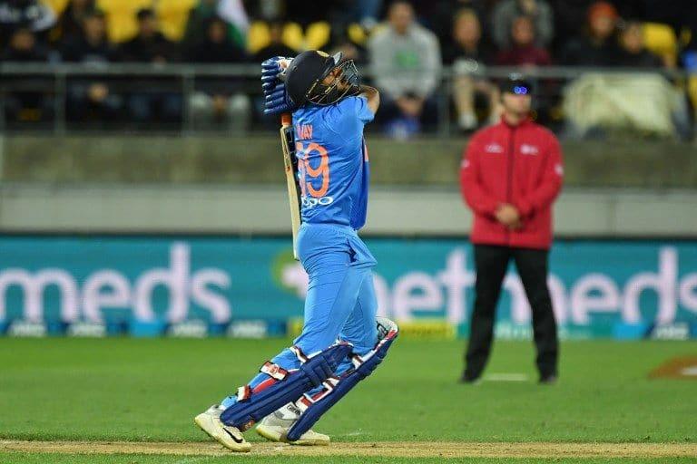 Vijay Shankar batted at No 4, scored 27 off 18 balls, and did not bowl.