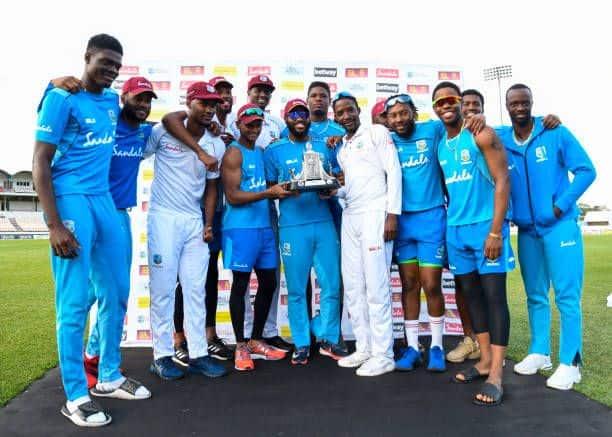 West Indies team trophy