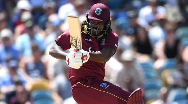 West Indies' Chris Gayle surpassed Pakistan's Shahid Afridi as the player with most sixes international cricket (Tests, ODIs and T20Is combined) during the 1st ODI against England