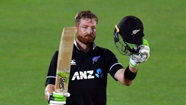 "Guptill satisfied with ""hard work"" on return from injury"