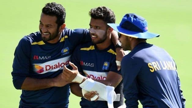 Have to keep our heads clear and play positively: Karunaratne
