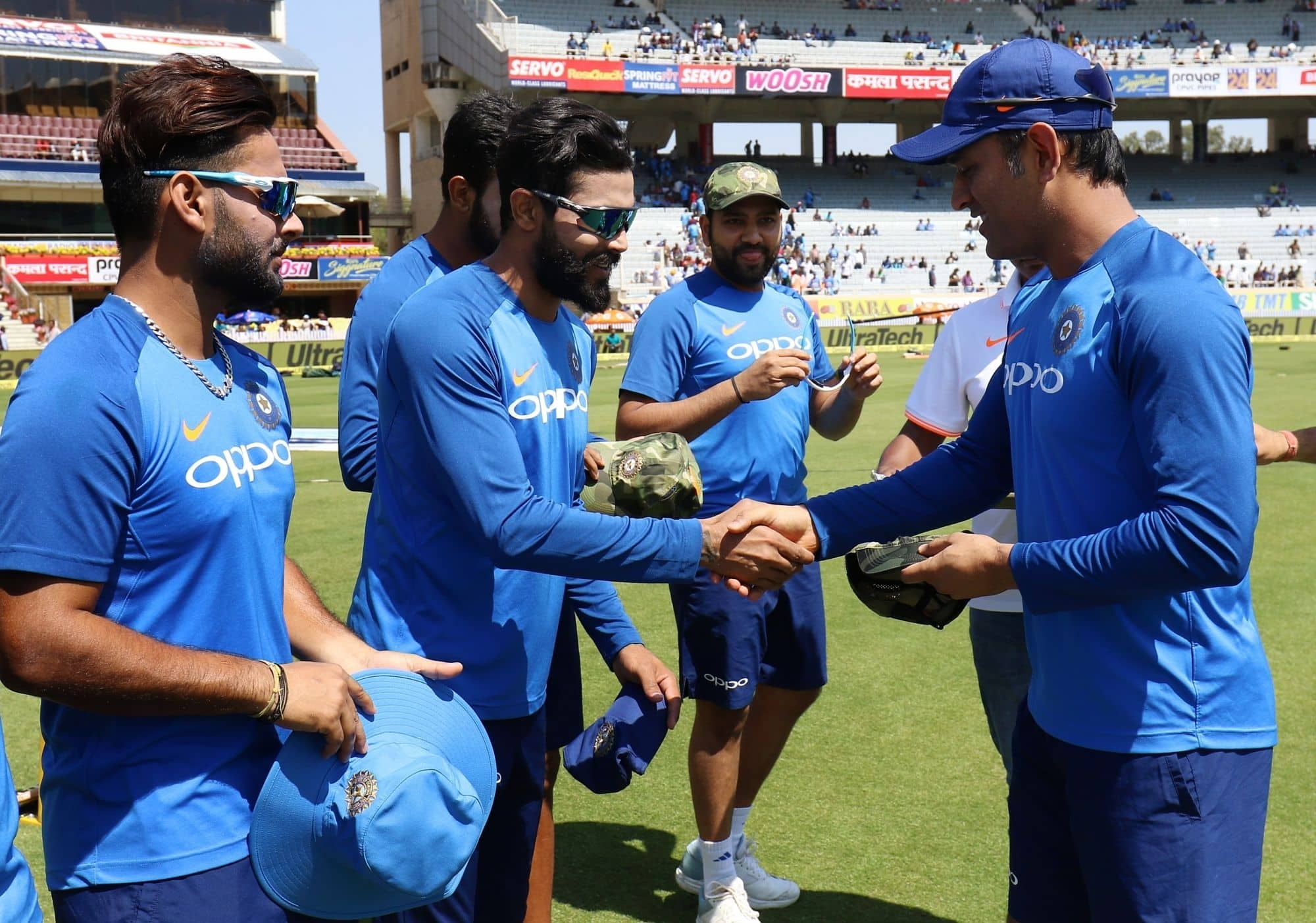 Team India to donate match fee of Ranchi ODI to families of Pulwama attack martyrs