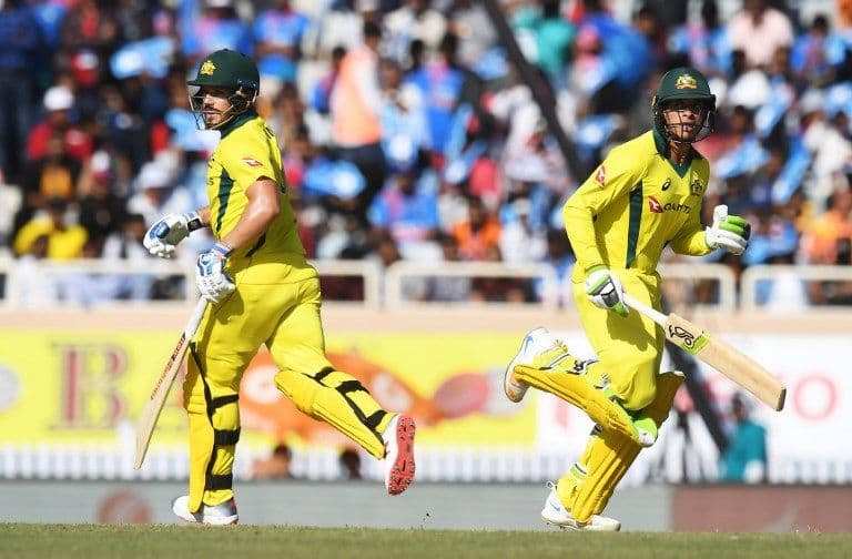 3rd ODI: Finch-Khawaja stand sets base for Australia's 313