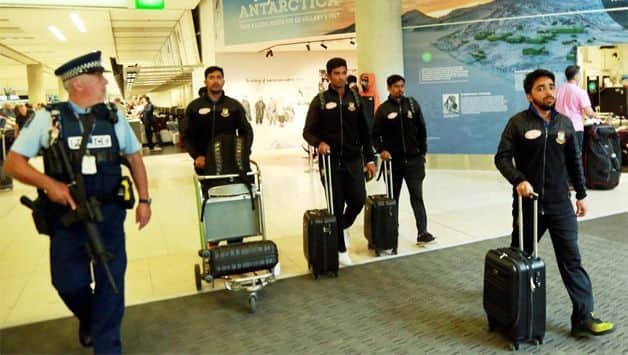 Bangladesh cricket team leave for home after Christchurch attack