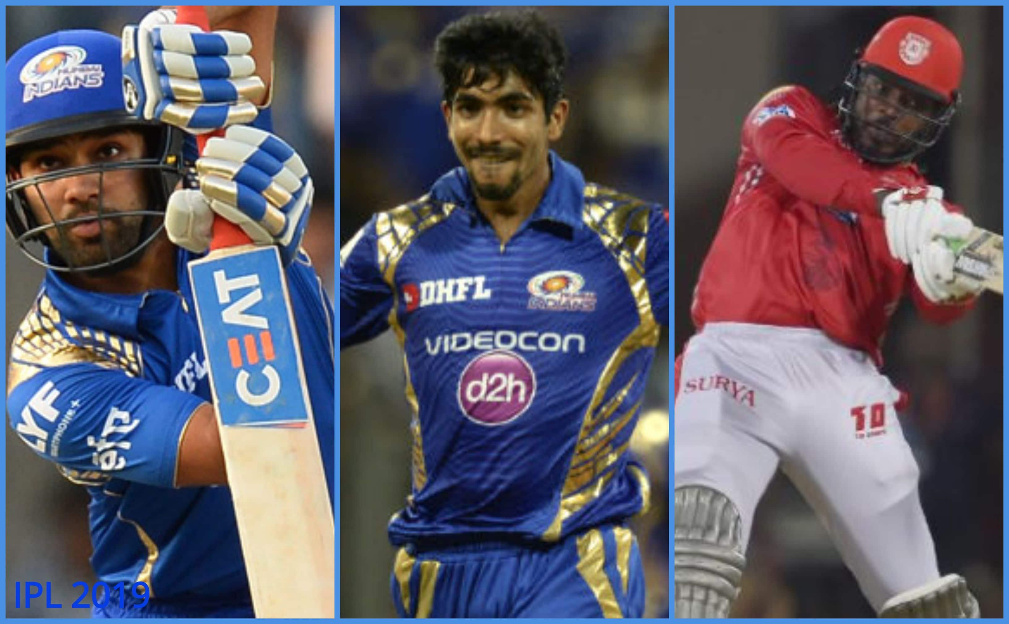 IPL 2019, Kings XI Punjab vs Mumbai Indians: Players to watch out for