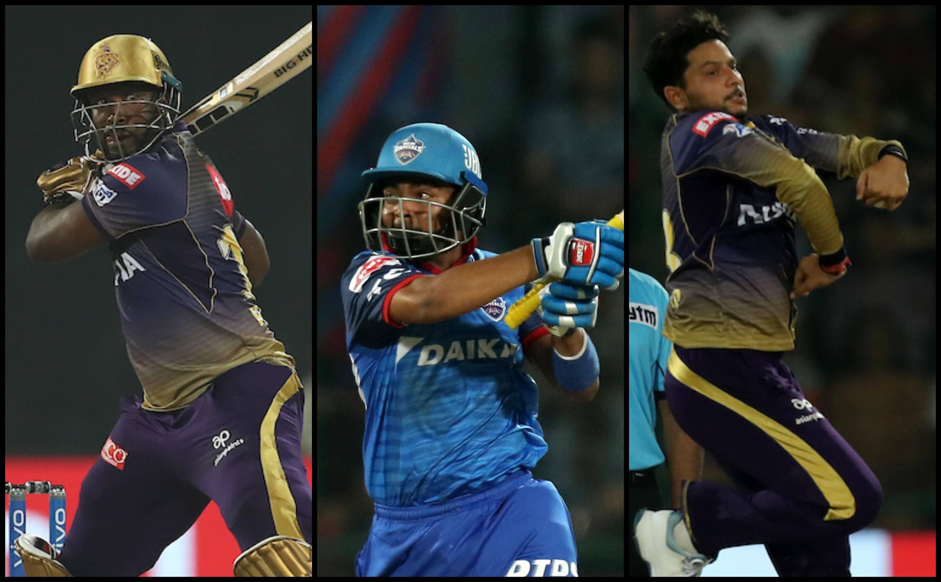 IPL 2019, Delhi Capitals vs Kolkata Knight Riders, highlights: Andre Russell, Prithvi Shaw's half century; Kuldeep Yadav's death over