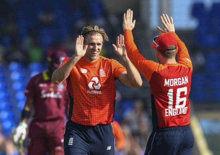 David Willey stars as West Indies routed for 71 in 0-3 loss to England