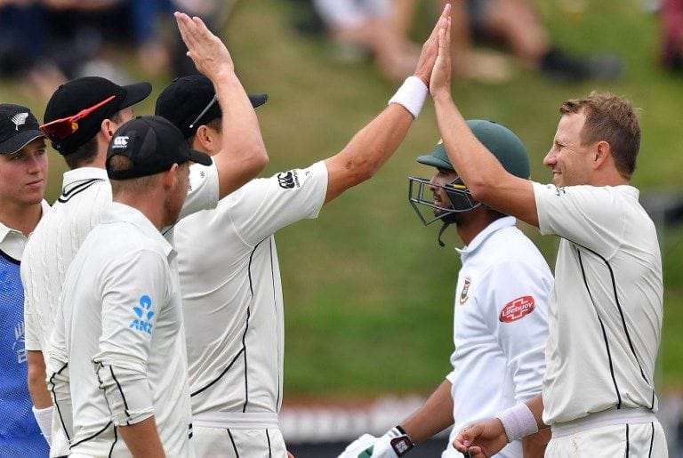 High five: New Zealand secure fifth straight Test series win