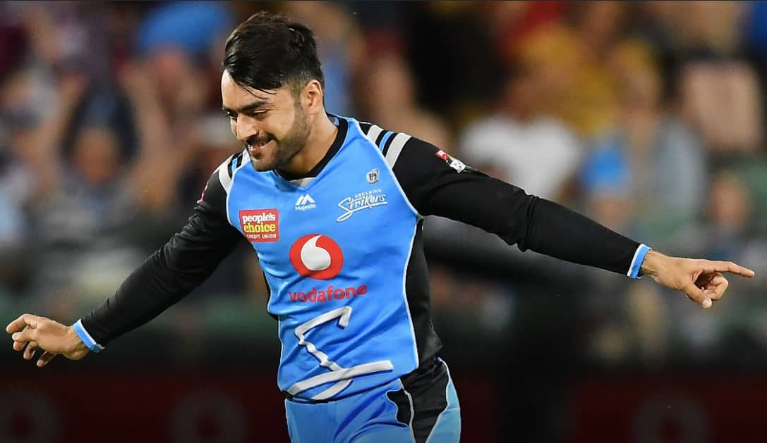 BBL: Rashid Khan voted Adelaide Strikers MVP for second straight year