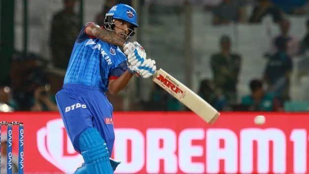 Shikhar Dhawan fifty helps Delhi to set 148 runs target against Chennai