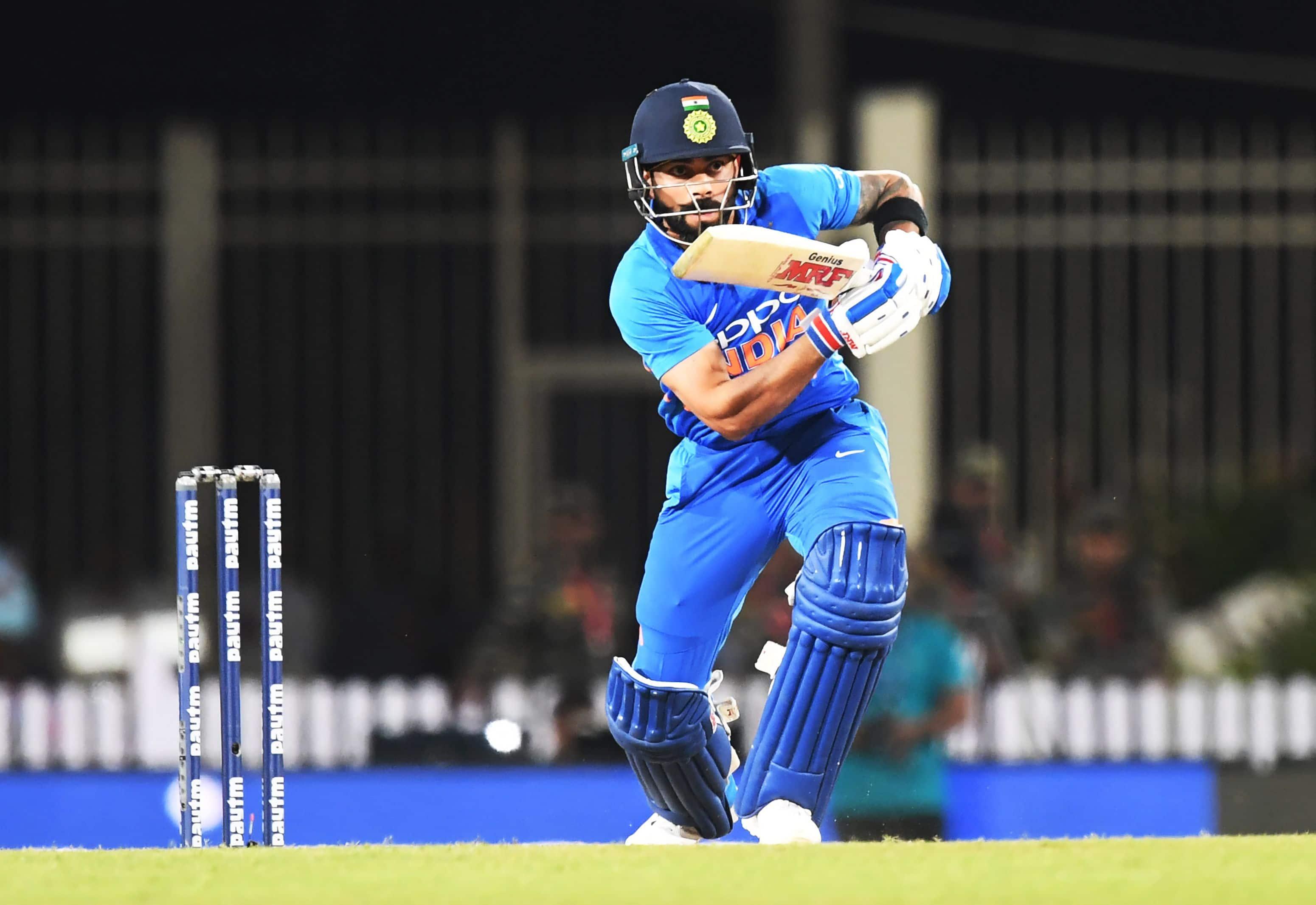Virat Kohli now stands behind only Sourav Ganguly and Sachin Tendulkar in ODIs.