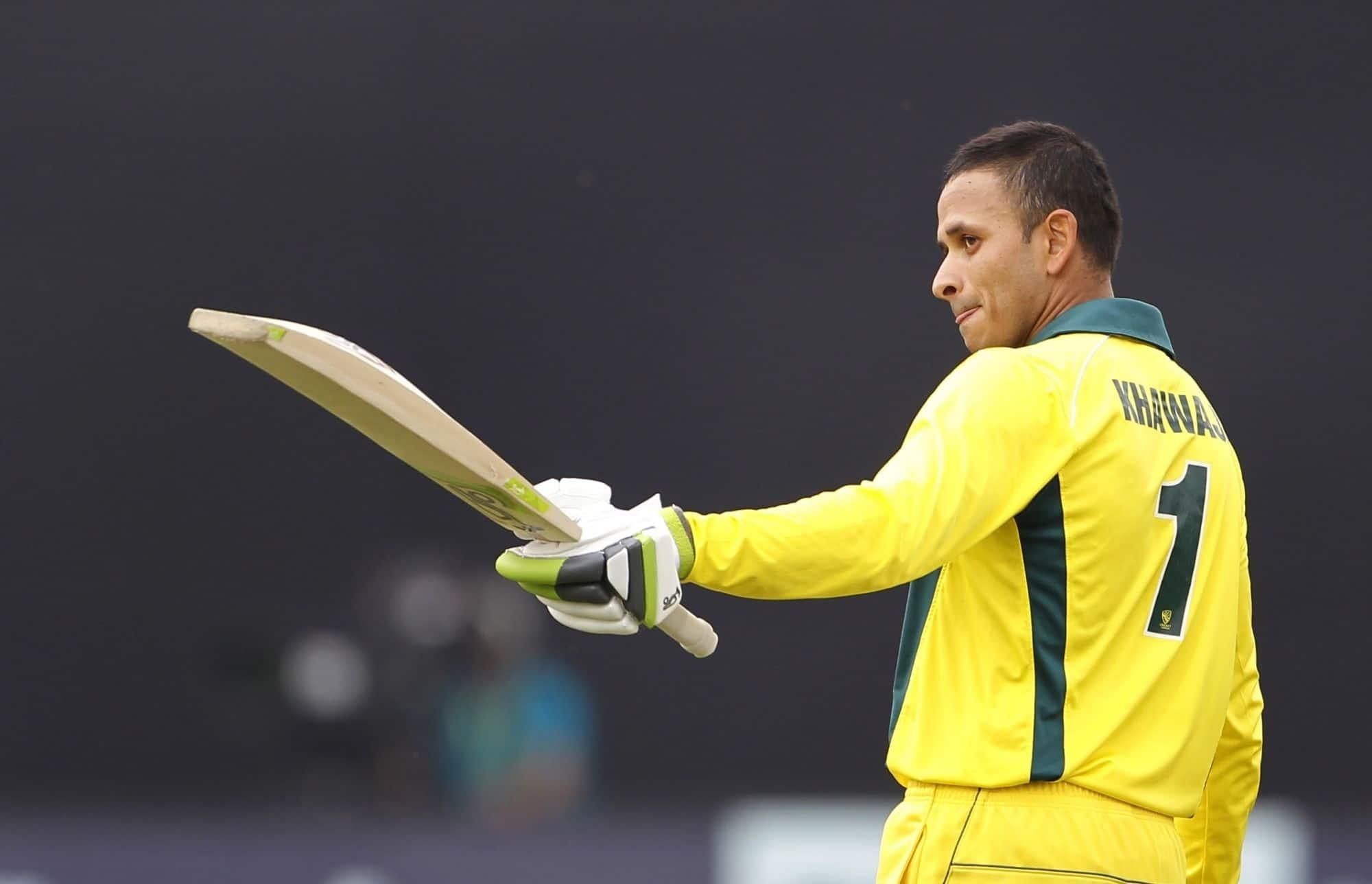Usman Khawaja propels Australia to 327-7 in fifth ODI against Pakistan