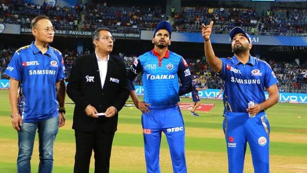 Indian T20 league, Mumbai vs Delhi: Mumbai Indians won the toss elected to field first