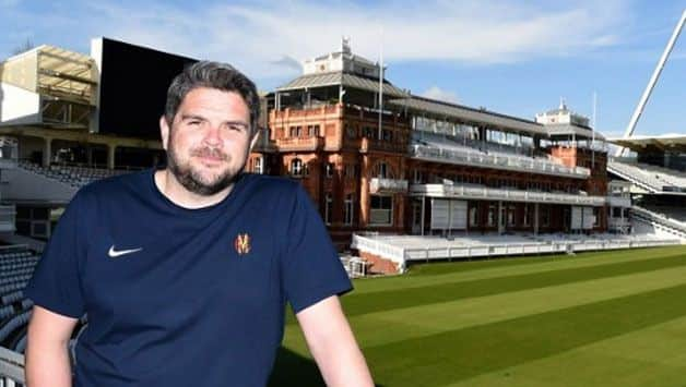 The new Lord's head groundsman Karl McDermott, originally from Dublin, will have a key role The new Lord's head groundsman Karl McDermott, originally from Dublin, will have a key role