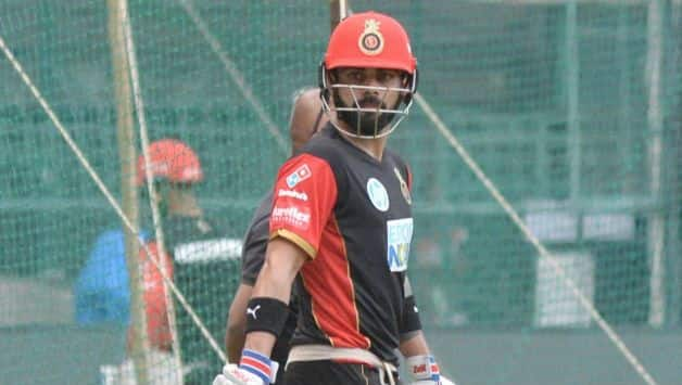 Great to be back at the Chinnaswamy, Can't wait to be on the field- Virat Kohli