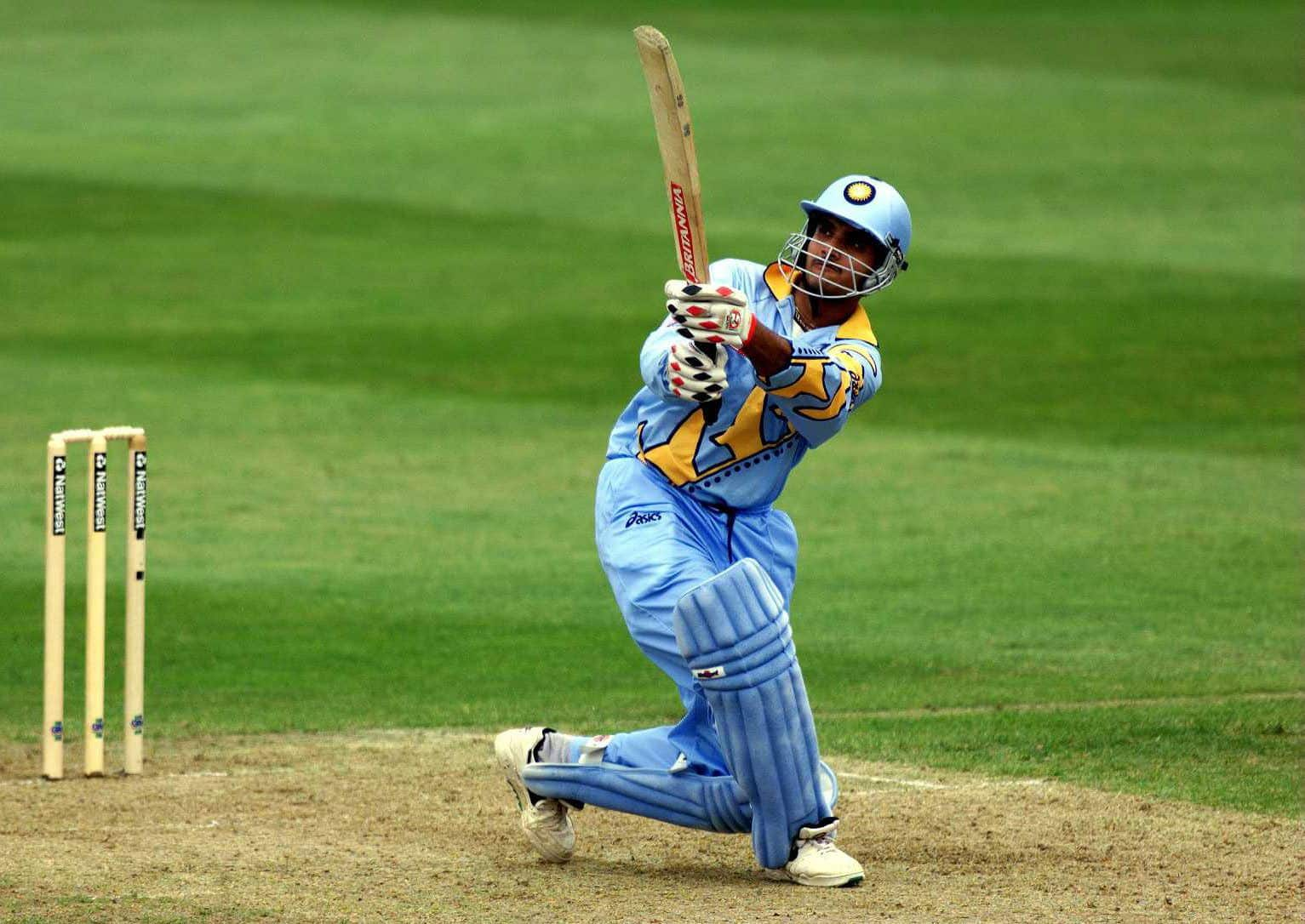 Sourav Ganguly's 183 remains the highest score by an Indian in the World Cup