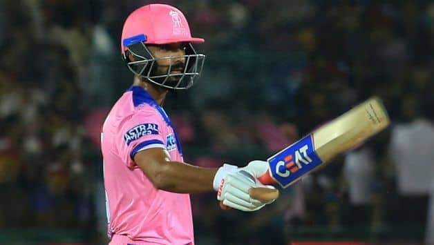 RR Vs DC, IPL 2019: Ajinkya Rahane's Ton, Rajasthan set 192 runs target for Delhi