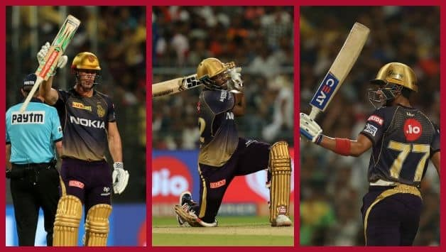 IPL 2019, MI VS KKR: Andre Russell, Subman Gill, Chris Lynn hits half century, Kolkata Knight Riders to Score 232/2 against Mumbai Indians